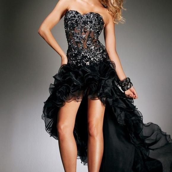 Sherri Hill Dresses & Skirts - Black SHERRI HILL dress. Strapless Prom perfect